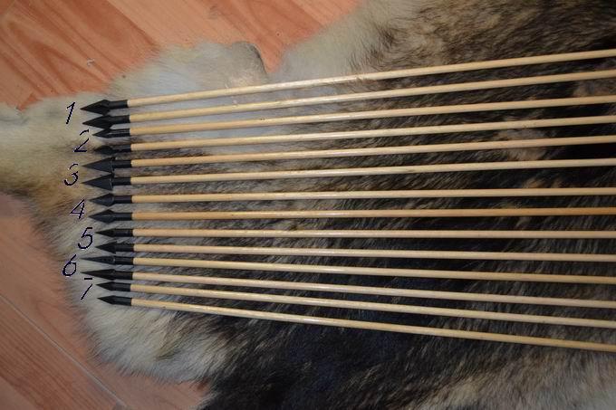 箭头:45号钢制作 装饰:箭杆无装饰